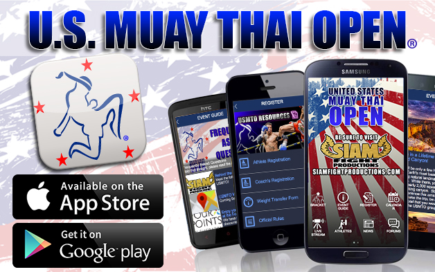 The U.S. Muay Thai Open (USMTO) Goes Mobile!