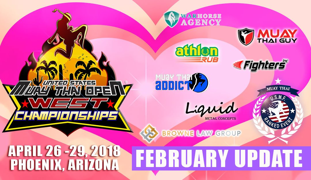 2018 USMTO West Championships – February Update